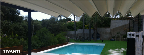 90º pergola Medisolafly - Pool house