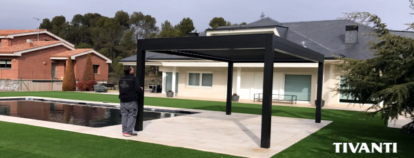 Bioclimatic pergola Med Twist - Home M