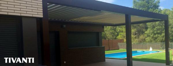 Bioclimatic pergola Med Twist - Home R
