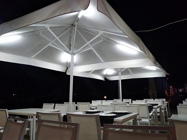 Parasol Sicilia Telescopic - Restaurant Angamagno Milanesa