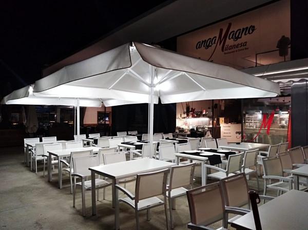 Parasol Sicilia Telescópico - Restaurante Angamagno Milanesa
