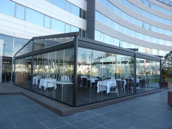 Pèrgola tendal pluja Med Viva - Hotel Fira Congres
