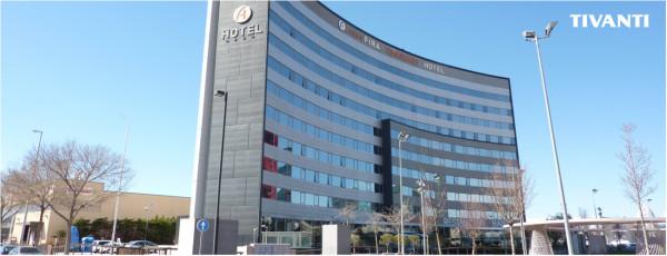 Pérgola toldo lluvia Med Viva - Hotel Fira Congres