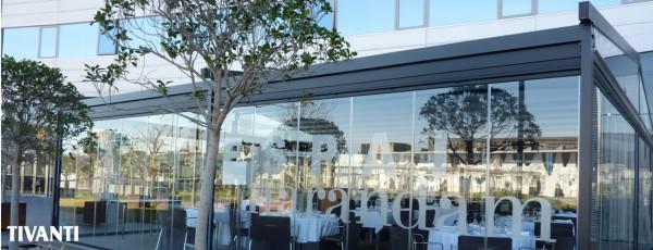 Rainy awning pergola Med Viva - Fira Congres Hotel
