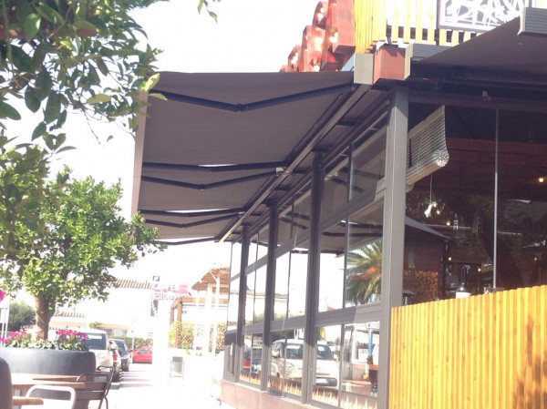 Tendal cofre Segno - Restaurant Pura Brasa