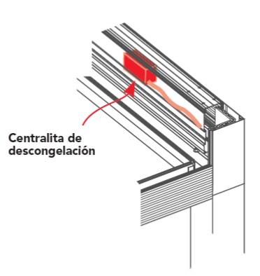 Defrost switchboard 90º pergolas