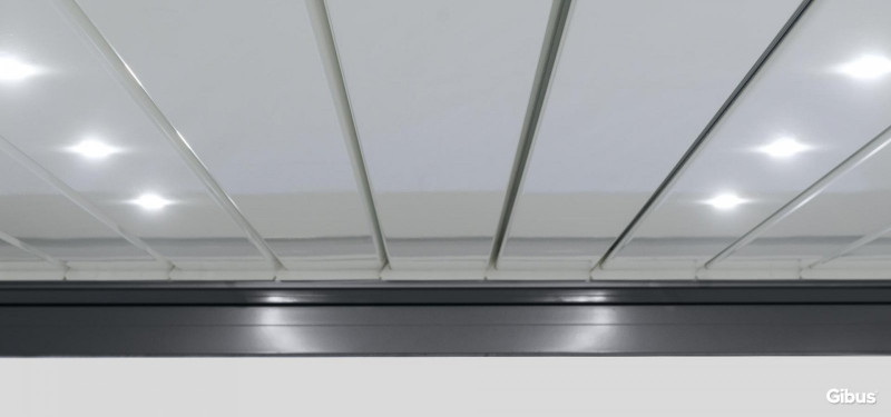 LED Spot integrated in the slats