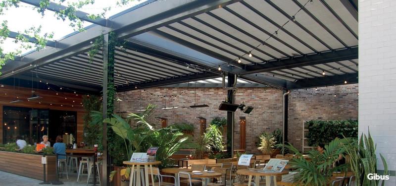 Rainy awning pergola Med 100