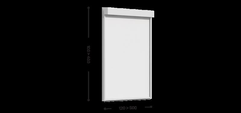 Vertical awning Click Zip 15